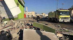 Die Rakete aus dem Jemen verursachte nur Sachschaden.