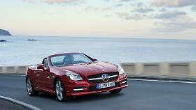 Der Mercedes SLK erfreut den TÜV.