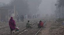 Riesige Feinstaubwolke in Asien: Indien und Pakistan rufen Smogalarm aus