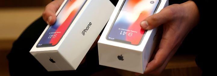 Teures Smartphone: iPhone X könnte Einzelhandel das Weihnachtsgeschäft vermiesen
