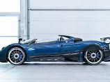 Einer der exotischsten V12-Renner dürfte der Pagani Zonda HP Barchetta sein.
