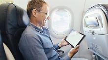 Kosten variieren stark: Immer mehr Airlines bieten im Flieger Internet