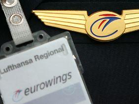 Betroffen vom Streik sind dutzende Eurowings-Flüge.