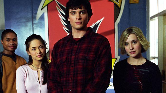 """Von 2011 bis 2011 gehörte Allison Mack (r.) zum Cast der erfolgreichen Fernsehserie """"Smallville""""."""