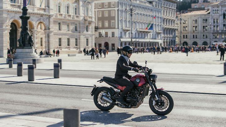 Anfang des kommenden Jahres soll die Benelli Lencino in Deutschland zum Kauf bereitstehen.