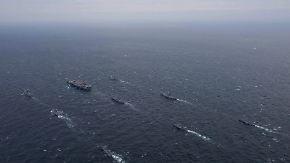 Druck und Harmonie in China: US-Flugzeugträger proben Manöver im Westpazifik