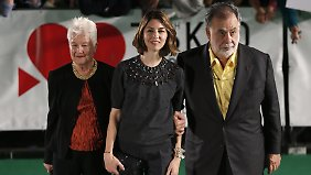 Die Familie: Eleanor, Sofia, Francis Ford.