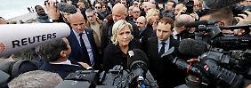 Anklage? Und wenn schon!: Le Pen sucht das mediale Massaker