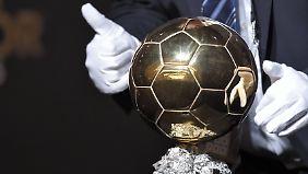 Ob Cristiano Ronaldo diesen güldenen Staubfänger ergattert? Die Antwort gibt's kurz nach dem Nikolaustag.