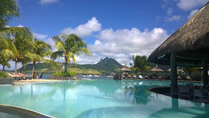 Auf Mauritius ist der kalte Winter in Deutschland sehr weit weg.
