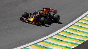 Red-Bull-Pilot Daniel Ricciardo wird am Sonntag beim Großen Preis von Brasilien definitiv nicht von der Pole aus starten.