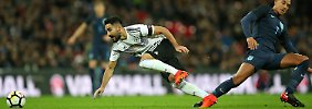 Erst rasant, dann einschläfernd: DFB-Elf spielt gegen England remis