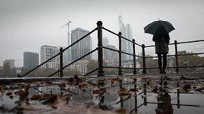 Dauerregen und kalter Wind: Der Samstag fällt ins Wasser