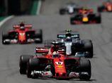 Duell um Vize-WM in Brasilien: Sebastian Vettel rast zum Sieg