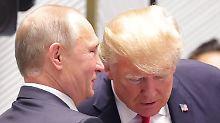 Russland-Affäre schwelt weiter: Ex-CIA-Chef: Putin manipuliert Trump