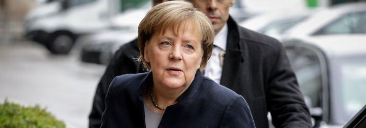 Finale Phase der Sondierungen: Angst vor Neuwahlen könnte Merkel helfen