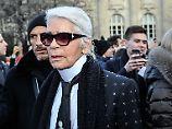 """""""Schlimmste Feinde"""" der Juden: Karl Lagerfeld empört mit Skandal-Auftritt"""