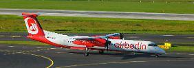 Website fürs Insolvenzverfahren: Air-Berlin-Geschädigte müssen warten