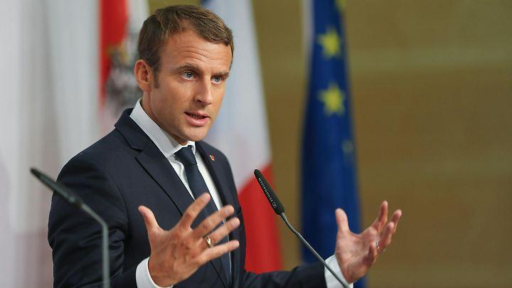 """Die """"100 Demokraten"""" werfen der Bewegung um Präsident Emmanuel Macron vor, sie habe ihre Prinzipien verraten."""
