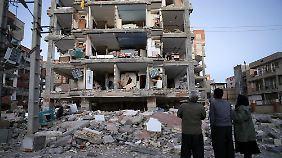 Katastrophe in Irak und Iran: Erdbeben zerstört Tausende Häuser