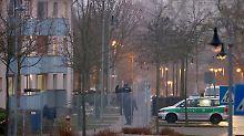 Feuer in ehemaliger US-Kaserne: Bewohner stirbt bei Brand in Asylheim