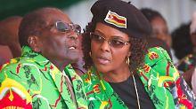 """Bloß keine Präsidentin Mugabe: Simbabwes Militär stürzt """"Gucci Grace"""""""