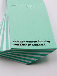Der Kalender, der auch Platz für Notizen lässt, kostet 16,80 Euro.