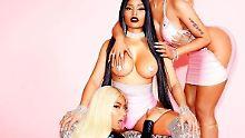 Auf Kim Kardashians Spuren: Nicki Minaj will das Internet sprengen