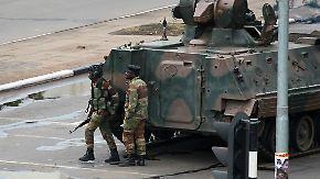 Das war der Morgen bei n-tv: Militär übernimmt offenbar Kontrolle in Simbabwe