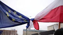 Parlament plant Überprüfung: EU zweifelt an Polens Rechtsstaatlichkeit