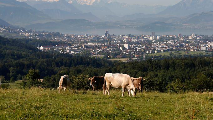 """Das """"Crypto Valley"""" Zug in der Schweiz."""