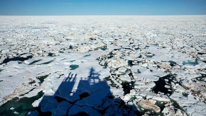 In der Arktis gibt es große Öl- und Gasvorkommen.