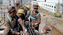 Ausweisung von Gastarbeitern: Nordkorea bittet Russland um Milde