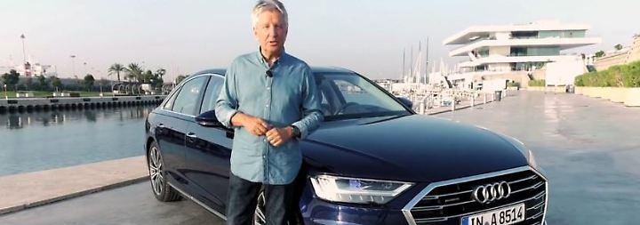 Audis nobles Flaggschiff: A8 überrascht mit über 40 Assistenzsystemen