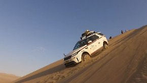 Autoabenteuer in Peru: Landrover Discovery meistert Wüstensand und Höhenmeter