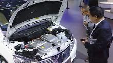 Elektroautoquote treibt an: Autobauer machen in China Tempo