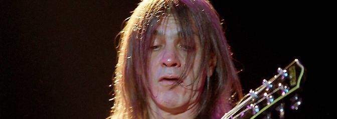 Trauer um Rocklegende: AC/DC-Gitarrist Malcolm Young ist tot