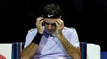 Fehlerfestival des Schweizers: Goffin lässt Tennis-Maestro Federer leiden