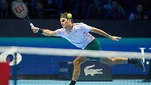Seine Saison endet abrupt - doch Roger Federer freut sich bereits auf die kommende.