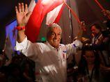 Präsidentschaftswahl in Chile: Piñera muss in die Stichwahl