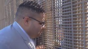 Liebe mit Hindernissen: Grenzzaun trennt US-mexikanisches Brautpaar während der Hochzeit