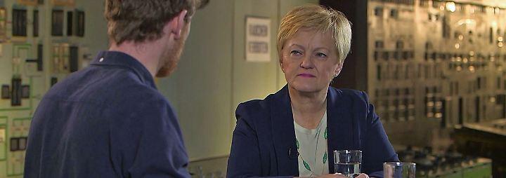 """Renate Künast bei """"Klamroths Konter"""": """"FDP hat das Land am Nasenring durch die Arena gezogen"""""""