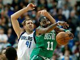Hawks bleiben in der Krise: Nowitzkis Mavs hadern mit Boston-Pleite