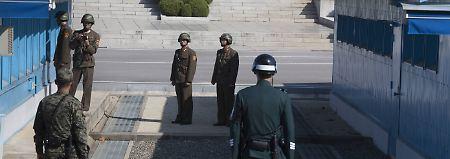 Soldat wieder bei Bewusstsein: Nordkoreaner will nach Flucht fernsehen