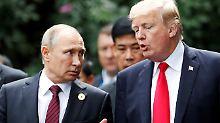 Gespräch mit Trump über Syrien: Putin dringt auf politische Lösung