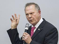 Trotz Belästigungsvorwürfen: Trump hält zu Senatskandidat Moore