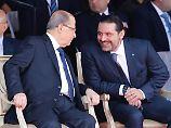 Nach Rückkehr in Libanon: Hariri schiebt Rücktritt auf
