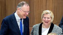 Große Pläne in Niedersachsen: Stephan Weil ist Ministerpräsident