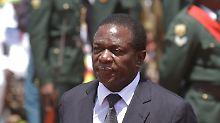 "Designierter Mugabe-Nachfolger: Simbabwes ""Krokodil"" geht zum Angriff über"