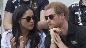 In Toronto konnte man das Paar allerdings auch ohne Trennscheibe sehen.